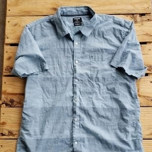 Hurley Tailored Fit S/S Button Down